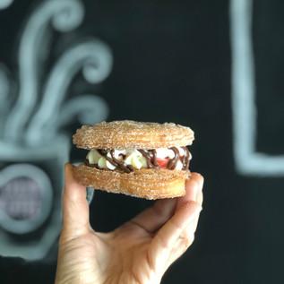 Nutella Strawberry Shortcake Whoopi Pie