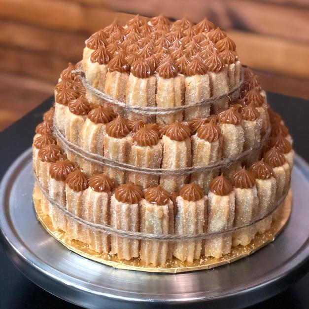 Original Churrobar 3 tier Churro Cake