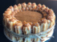 Small Classic Dulce de Leche Churro Cake