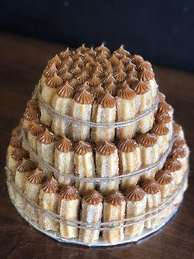 Churrobar 3 tier Churro Cake