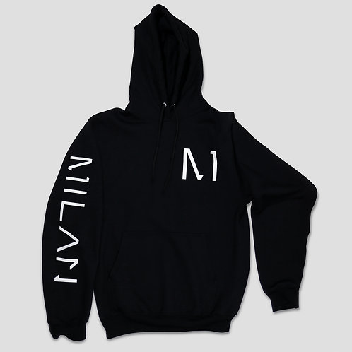 MILAN Hoodie in Black