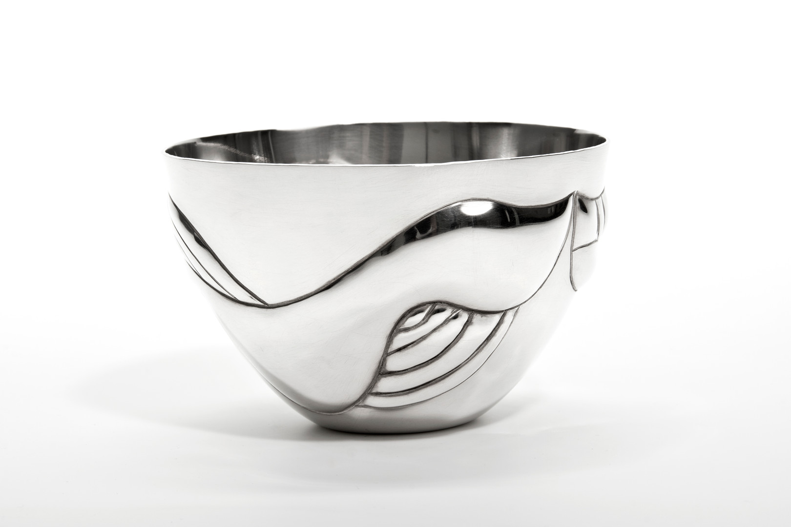 Hand Formed Sterling Silver Bowl, 2018