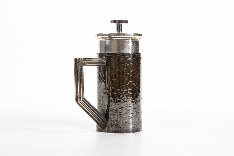 Hand Fabricated & Engraved Cafetiere, 2019.