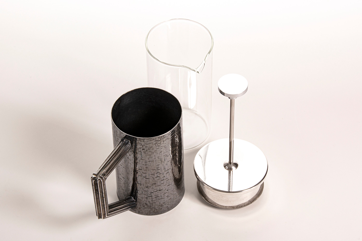 Hand Fabricated & Engraved Cafetiere, 2019