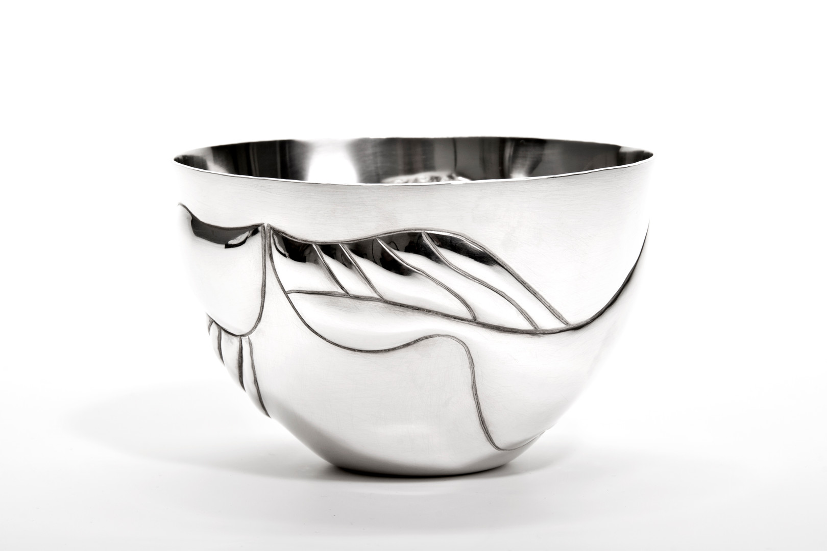 Hand Raised Sterling Silver Bowl, 2018