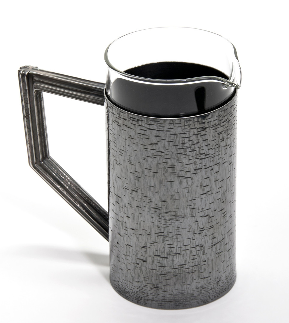 Hand Fabricated & Engraved Cafetier, 2019.