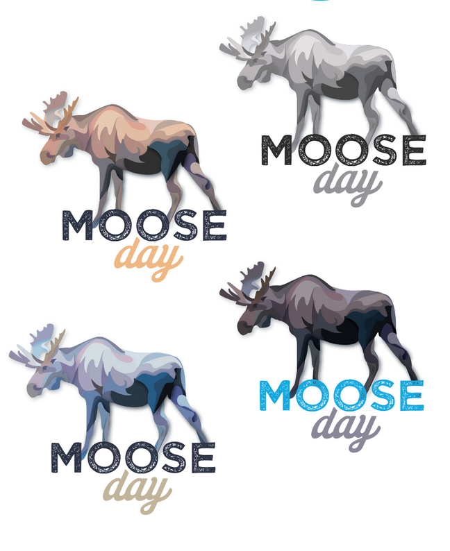 Moose Day logos + Bee guide