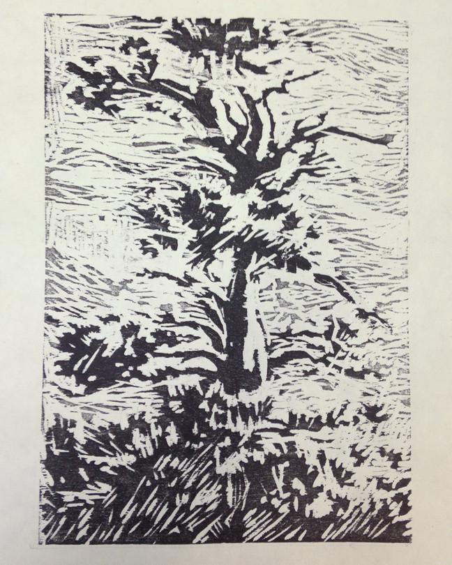 Wood Block Relief Prints