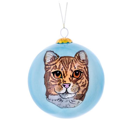Orange Tabby Ornament