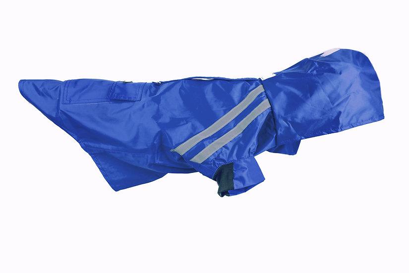 Hooded Raincoat- Blue