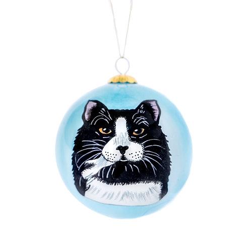 Black & White Tuxedo Ornament