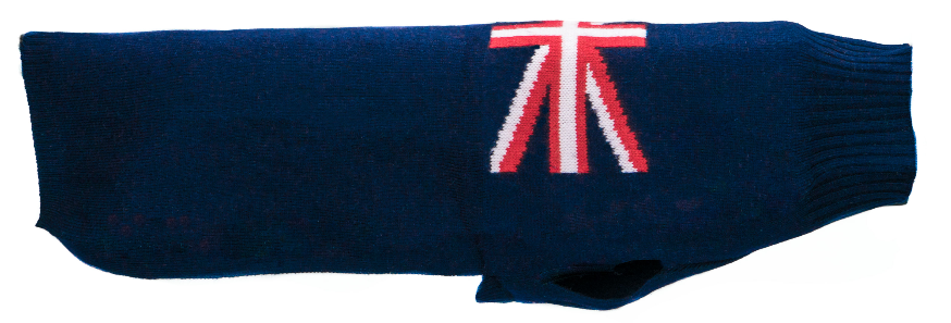 Cashmere Sweater Union Jack
