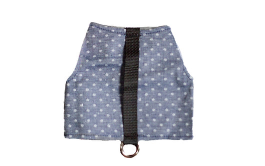 Classic Wrap- Dotted Slate