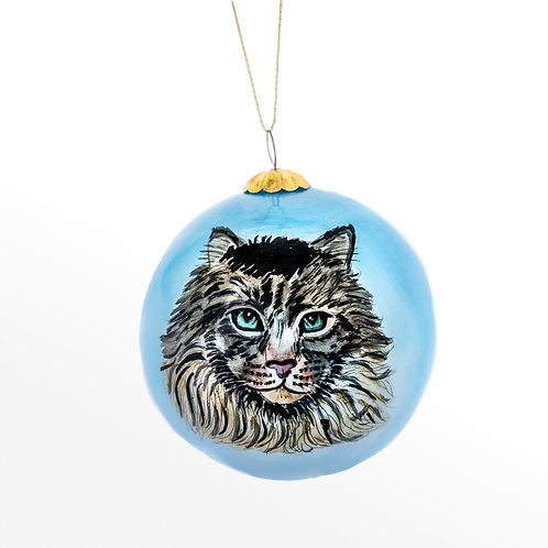 Maine Coon Ornament