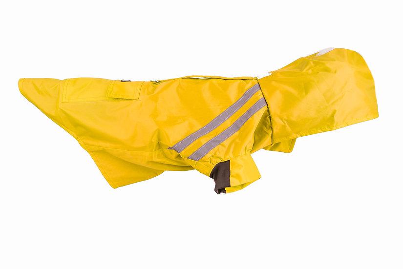 Hooded Raincoat- Yellow