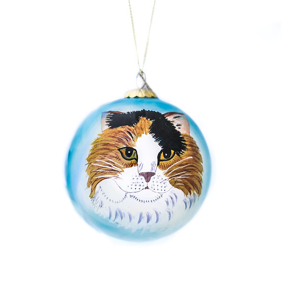 Calico Ornament