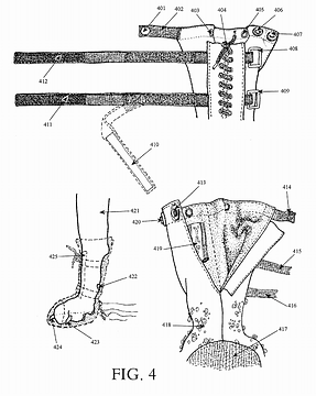 YAP Caligae® Patent Diagram