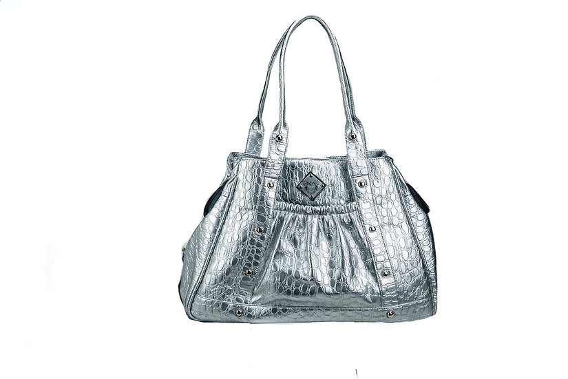Mommy & Me Purse (Silver)