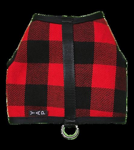 Winter Wrap- Red Buffalo Plaid