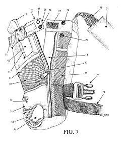 YAP Sak® Patent Diagram