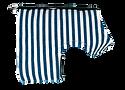 Breton Stripe Classic Wrap