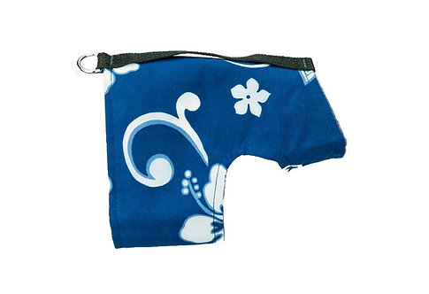 Classic Wrap- Blue Hawaiian