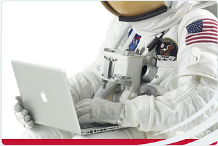 NASA Astronaut Macbook Outlast