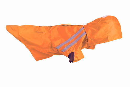 Tru-Fit® Hooded Raincoat - Orange