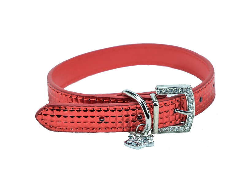 Ruby Red Sparkle Collar