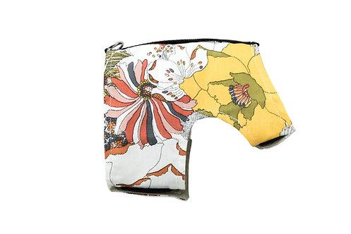 Classic Wrap- Floral/ Tan