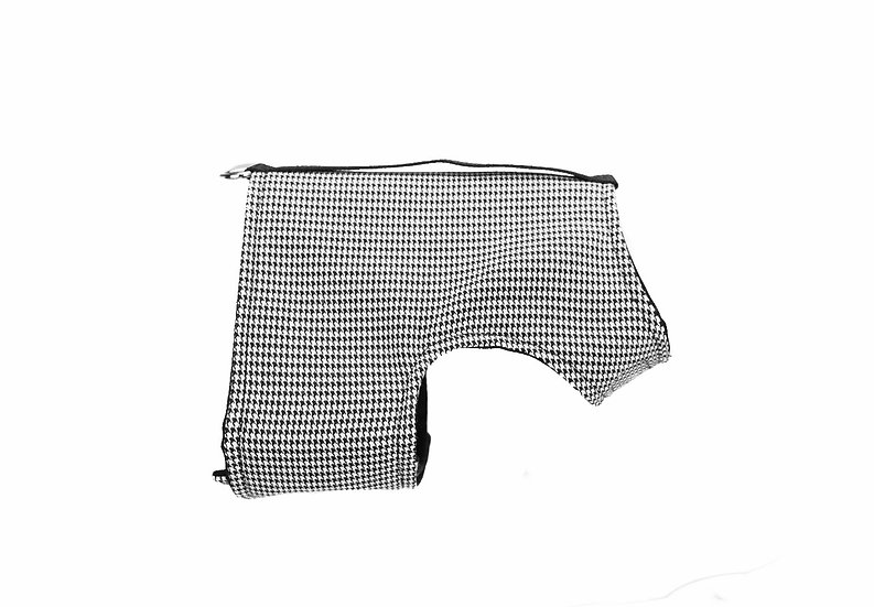 Classic Wrap- Houndstooth