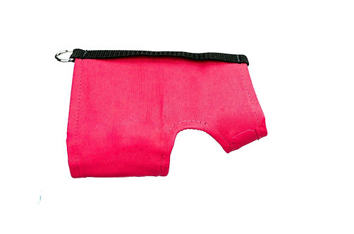 Classic Wrap-Hot Pink/Black