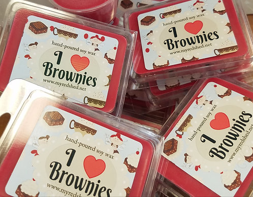 I {heart} Brownies Wax Melt