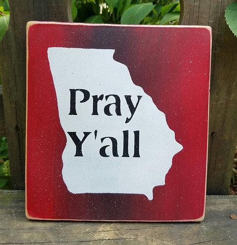 Pray Y'all Georgia
