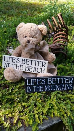 Life's Better...