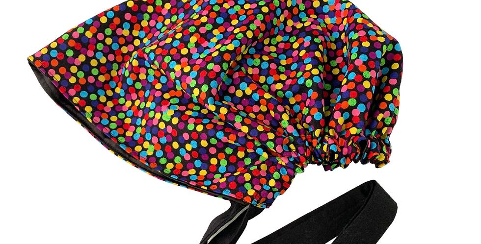 Confetti Satin-Lined Cap