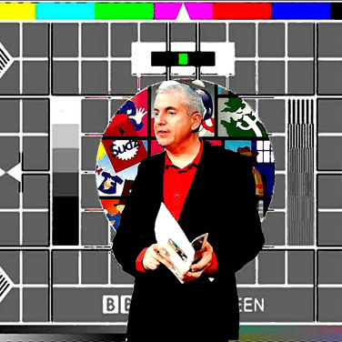 Testcard montage for Split Screen readings