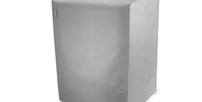 Capa Cinza para Lavadora Electrolux tamanho M