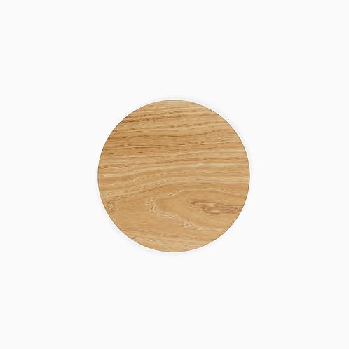 Стільниця дерев'яна TOP кругла,  ø50–70/2.4см