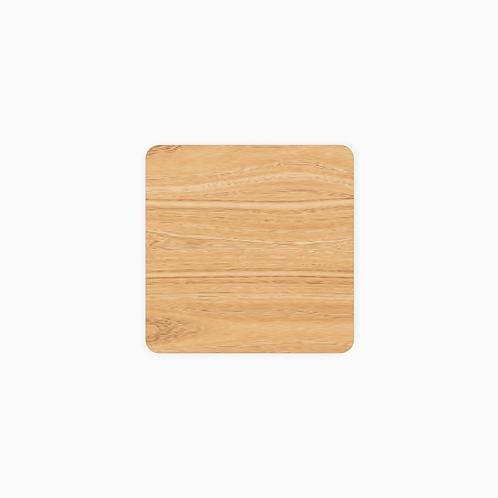 Стільниця дерев'яна TOP, квадратна,  50х50–70х70/2.4см