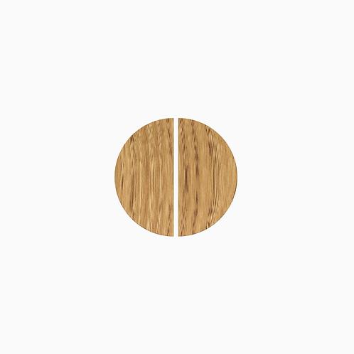 Набір дверних ручок COUPLE,  ø16 см