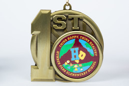 Humber Park Elementary School Medal