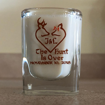 Wedding Shot Glass