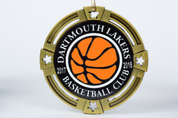 Dartmouth Lakers Basketball Medal