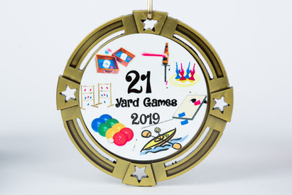 Yard Games Medal