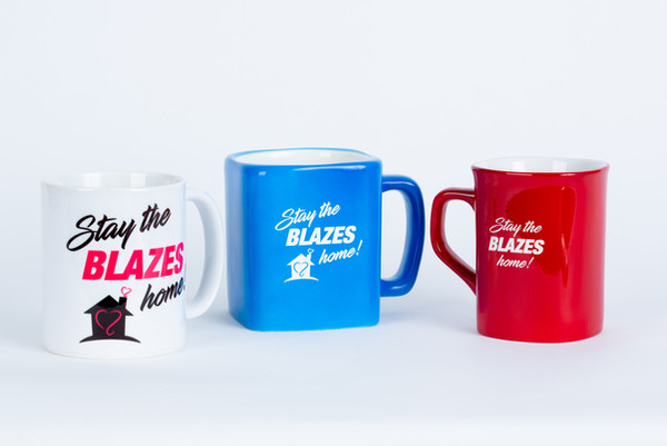 Stay the Blazes Home Mug
