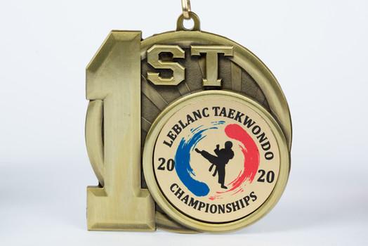 Leblanc Tae Kwon Do Medal