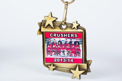 Crushers Team Medal