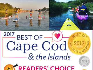 Rideaway Kayak                                   Voted Best of Cape Cod