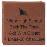 Viera High School Track 8x8 with clipart